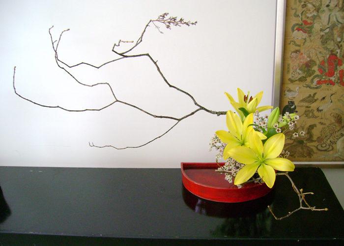 «Sculptură din flori» sau Ikebana